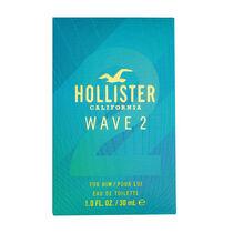 Hollister Wave 2 Him Eau de Toilette Spray 30ml, , large