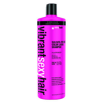Sexy Hair Vibrant Color Lock Shampoo 1000ml, , large