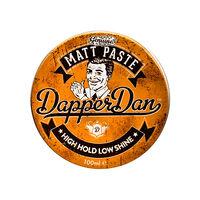 Dapper Dan High Hold Low Shine Matt Paste 100ml, , large