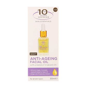 10 Years Younger Anti Aging Facial Oil 30ml, , large