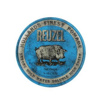 Reuzel Blue Pomade Water Soluable 4oz, , large