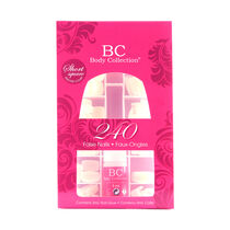 Body Collection 240 False Nails Short Square, , large