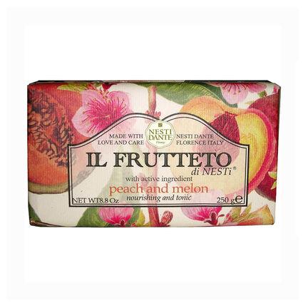 Nesti Dante Ill Fruetto Peach and Melon Soap 250g, , large