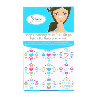 Grace Your Face Deep Cleansing Nose Pore Strips, , large