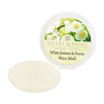 Heart & Home Wax Melt White Jasmine & Freesia 27g, , large