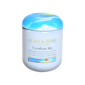 Heart & Home Cerulean Sky Large Candle 725g, , large
