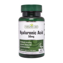 Natures Aid Hyaluronic Acid 50mg 60 Capsules, , large