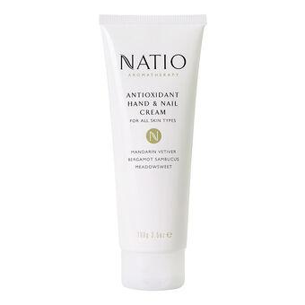Natio Aromatherapy Antioxidant Hand & Nail Cream 100g, , large