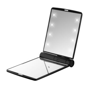 Flo Celebrity LED Mirror Black, , large