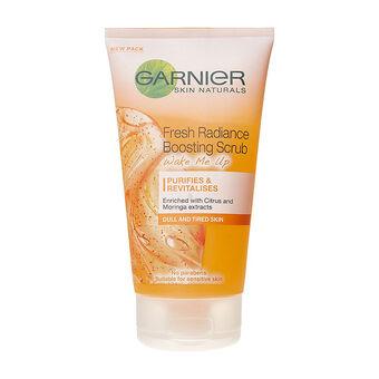 Garnier Wake Me Up Fresh Radiance Boosting Scrub 150ml, , large