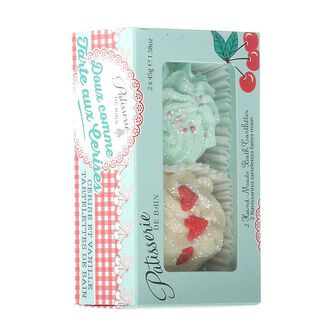 Rose & Co Patisserie de Bain Sweet As Cherry Pie Bath Melts, , large