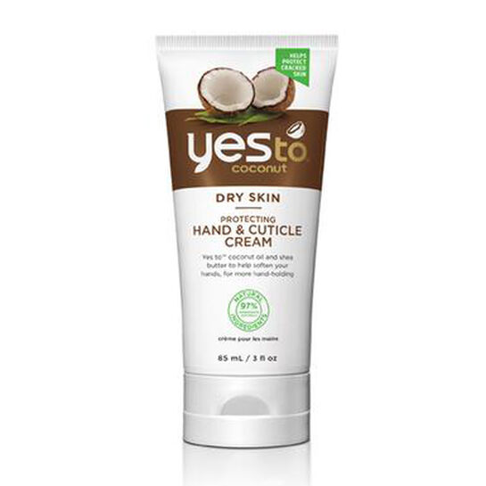 Yes To Coconut Protecting Hand & Cuticle Cream 85ml, , large