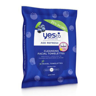 Yes To Blueberries Cleansing Wipes 10 wipes, , large