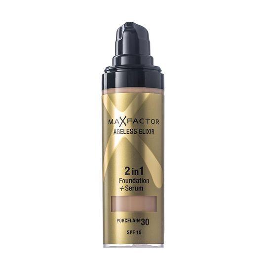 Max Factor Ageless Elixir 2 in 1 Foundation + Serum 30ml, , large