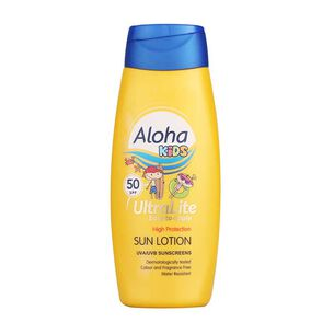 Aloha Ultralite SPF50 Kids Sun Lotion, , large