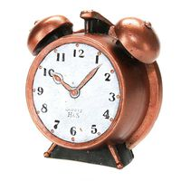 Levin Brothers Large Clock Candle Bronze, , large