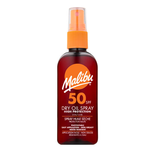 Malibu Dry Oil Spray SP50 100ml, , large