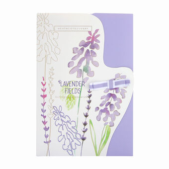 Heathcote and Ivory Lavender Fields Scented Drawer Liners, , large
