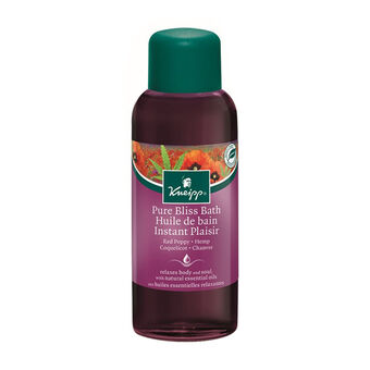 Kneipp Pure Bliss Bath Red Poppy & Hemp 100ml, , large