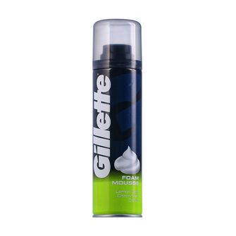 Gillette Lemon Lime Citrus Shave Foam Mousse 200ml, , large