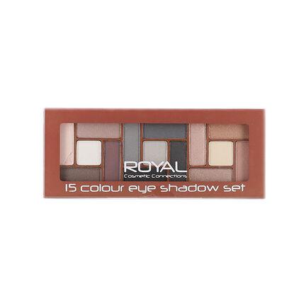 Royal 15 Colours Eye Shadow Set 10.6g, , large
