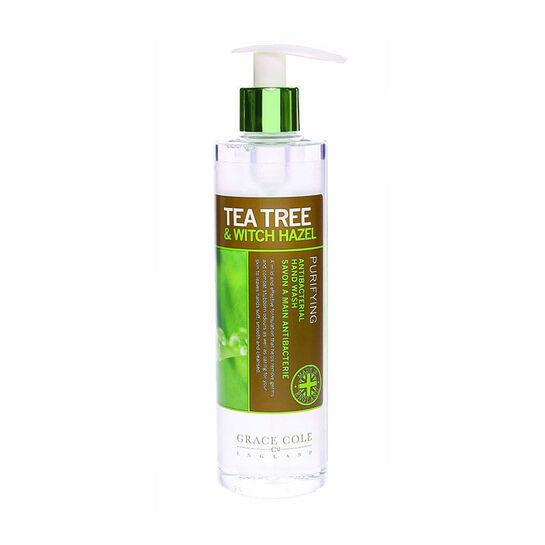 Grace Cole Tea Tree & Witch Hazel Hand Wash 300ml, , large