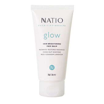 Natio Face Lift Results Glow Skin Brightening Face Balm 50g, , large