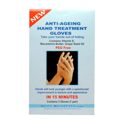 Skin Benefits Anti Ageing Hand Treatment Gloves (1 pair), , large