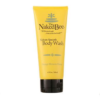 The Naked Bee Orange Blossom Honey Body Wash 200ml, , large