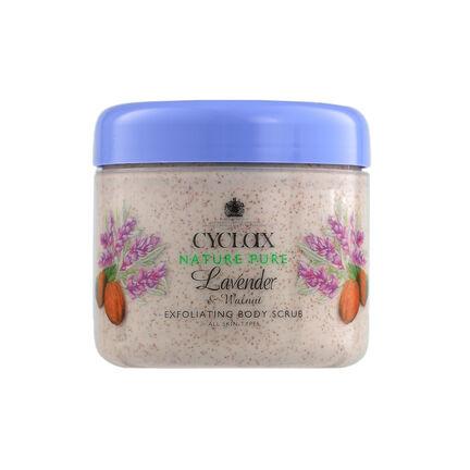 Cyclax Lavender & Walnut Exfoliating Body Scrub 300ml, , large