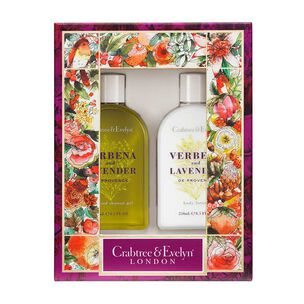 Crabtree & Evelyn Verbena & Lavender Body Care Duo, , large