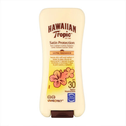 Hawaiian Tropic Satin Protection Sun Lotion SPF 30 180ml, , large