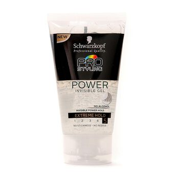 Schwarzkopf Pro Styling Power Invisible Gel 150ml, , large
