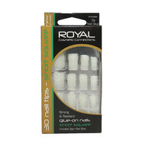 Royal Glue on Nails Short Square Nails, , large