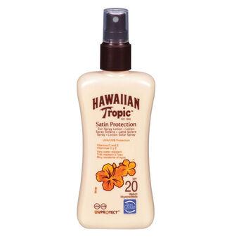 Hawaiian Tropic Satin Protection Spray Lotion SPF20 200ml, , large