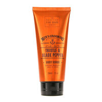 Scottish Fine Soaps Mens Grooming Body Scrub 200ml, , large
