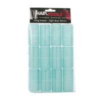 Hair Tools Medium Velcro Rollers Light Blue 28mm, , large