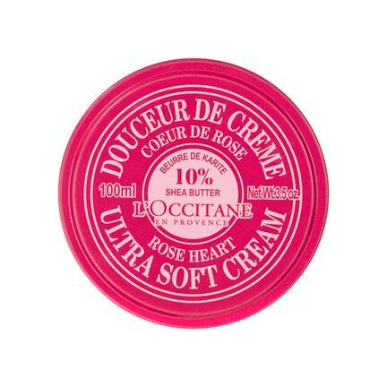 L'Occitane Rose Heart Ultra Soft Cream 100ml, , large