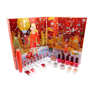 W7 Countdown To Christmas Advent Calendar Cosmetic Set, , large