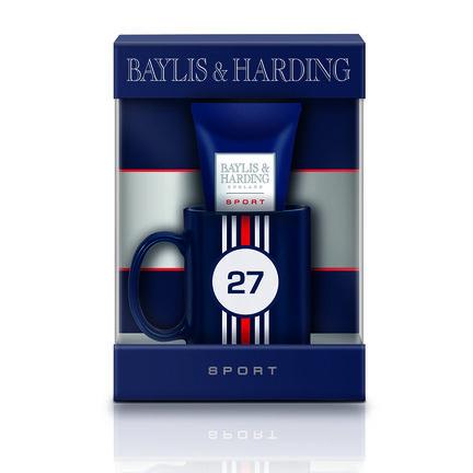 Baylis & Harding Sport Citrus Lime & Mint Mug Gift Set, , large