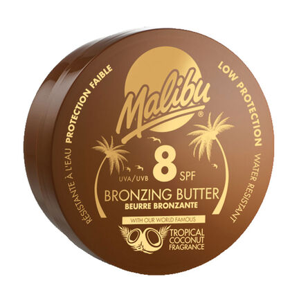 Malibu Bronzing Body Butter SPF 8 250ml, , large