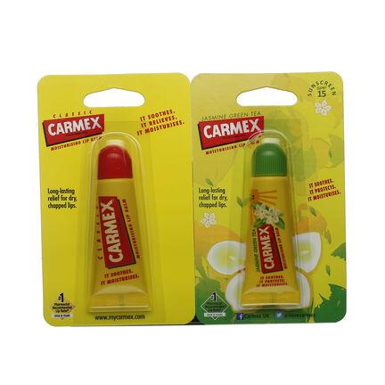 Carmex Lip Balm Tube Duo Jasmine and Original 2 x 10g, , large