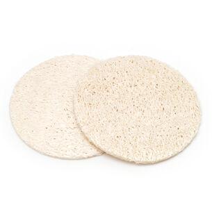 Basicare Natural Loofah Facial Pads, , large