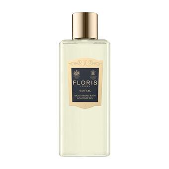 Floris London Santal Moisturising Bath & Shower Gel 250ml, , large