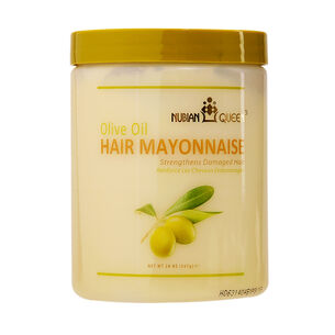 NUBIAN QUEEN Olive Oil Hair Mayonnaise Hair Mask 567g, , large
