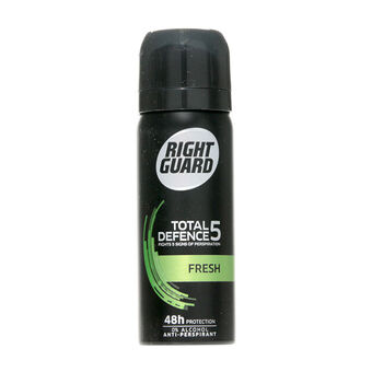 Right Guard Total Defence 5 Fresh Deodorant Travel Size 50ml, , large