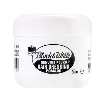 Black & White Hair Dressing Pomade 50ml, , large