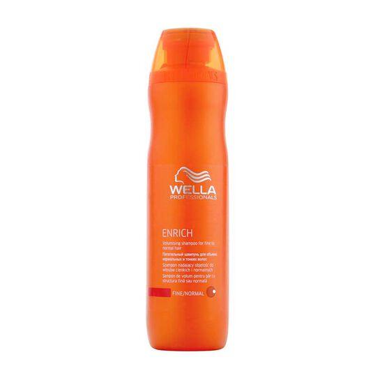 Wella Enrich Volumising Shampoo for fine normal hair 250ml, , large