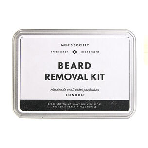 Men's Society Beard Removal Kit, , large