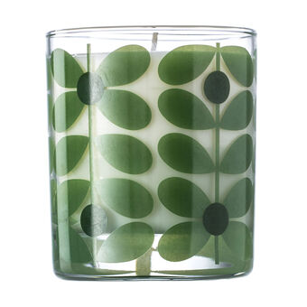 Orla Kiely Basil and Mint Tree Scented Candle 200g, , large